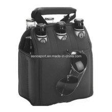 Promotional Neoprene 6-Packing Beer Bottle Cooler Bag (SNCC53)