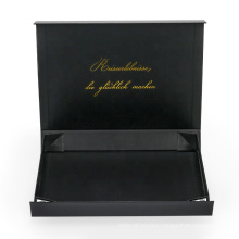 Luxury cardboard jewelry box with factory price
