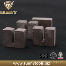 Unique Design Diamond U Shape Segment for Cutting Stone