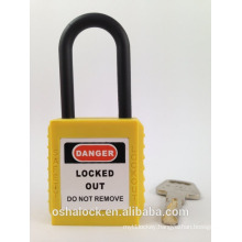 BOSHI Safety Padlock BD-G12 with Nylon Shackle
