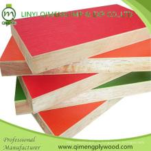 Отличное качество 3мм 5мм 9мм12мм 15мм 18мм Цветная меламиновая фанера для мебели от завода Линьи Цимэн