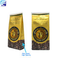 Tin tie custom printed food coffee bean bags