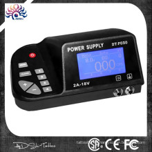 2013 die neueste billige multifunktionale abgewinkelte Bildschirm LED Single Output Switching Tattoo Power Supply