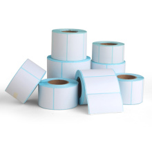 Blank custom size direct thermal label paper