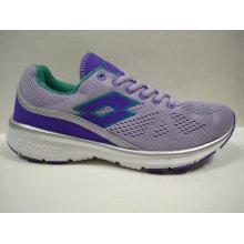 Cute Purple Fly Knit Chaussures de course confortables pour femmes