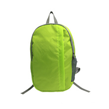 Accepted custom travel lightweight folding bag waterproof sport foldable backpack camping backpack