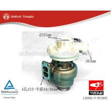 Sobrealimentador de motor Yuchai YC6L L3005-1118100C