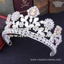 Gorgeous Queen Crowns With Big Round Diamonds