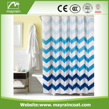 Polyester waterproof shower curtains