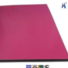 Pared de revestimiento de panel de aluminio compuesto Xh006