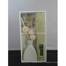 Bâtons de rotin Diffuseur de roseau à arôme de vanille française