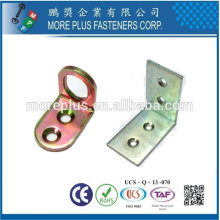 Taiwán Acero inoxidable 18-8 Cobre Soportes de latón Mobiliario Soporte de la cama Hardware Soporte de estante de cristal Hardware Hardware
