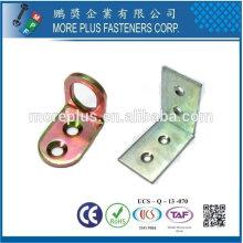 Taiwan Aço inoxidável 18-8 Cobre Suportes de latão Móveis Suporte de cama Hardware Suporte de prateleira de vidro Hardware Hardware