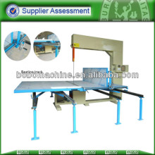vertical foam block cutting machine