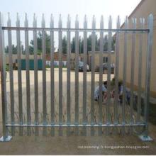 Matériau de panneau de clôture de treillis métallique