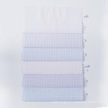 STOCK Check Tissu Polyester Chemise Anti-rides Textile
