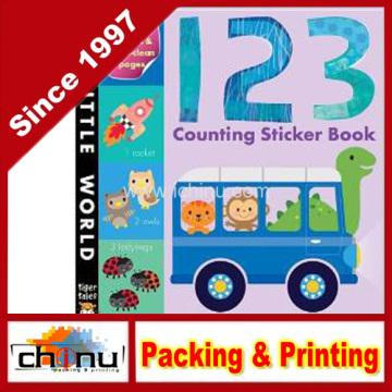 123 Contando Livro Etiqueta (440013)