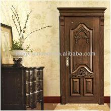 Conception de porte principale en bois unique design de porte principale indienne Conception en bois de porte mian