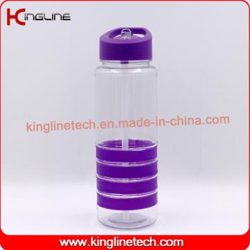 700 ml de bouteille de boisson en paille en plastique de haute qualité (KL-7146)