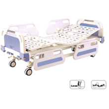 Furniture Central Locking Movable Full-Fowler Hospital Bed with ABS Head / Foot Board