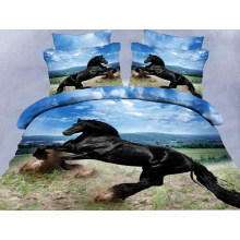 Stock Flat Screen Printing Microfiber Fabric for Home Textile