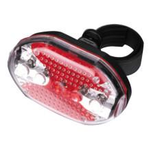 3 * AAA 5LED Plastik Sepeda ekor flash lampu