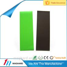 Revêtement personnalisé en caoutchouc Feuille magnétique en plastique