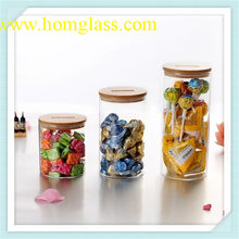 High Quality Glass Jar Storage Made by Pyrex Borosilicate Glass