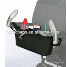 Organisateur de poussette de stockage de couches de bébé de poussette de haute qualité pour la maman