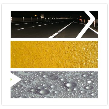 Road Traffic Paints Glass Reflective Beads