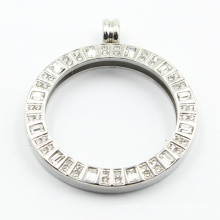 Personalized 316L Stainless Steel Locket Pendant for Necklace Jewellery
