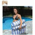 nouveau style en plastique vinyle lit de massage de l'eau en plastique à vendre