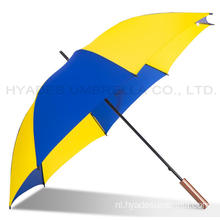 Big Size Lichtgewicht Women's Straight Umbrella For Golfer