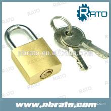 Master key Brass tri-circle padlock
