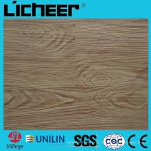 Wpc imperméable à l'eau Plancher composite Prix8.0mm Wpc Flooring 7inx48in High Density Wpc Wood Flooring