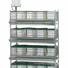 Top Selling 6 Layers Automatic Poultry Quail Farm Cage For Sale