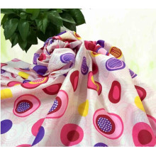 75D*75D /Polyester/Pongee/Printed/Fitted Cover/Curtain Fabric