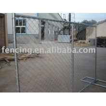 vorübergehender Zaun