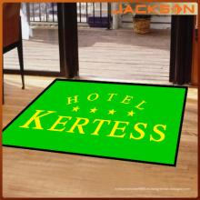 Moda personalizada cinco estrellas entrada del hotel alfombra de goma