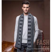 Laine de mode pour hommes tricoté hiver longue écharpe chaude (YKY4608)