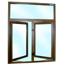 Fenêtre à battants latéraux en alliage d'aluminium