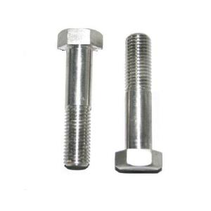 Metal stainless steel hex bolts