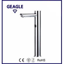 Capteur de robinet contemporain Chrome Brass Single Cold Only Robinet de bassin inductif ZY-8117