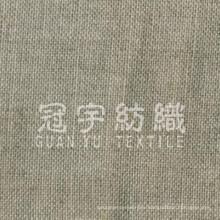 100% полиэстер натуральная льняная ткань для диванов