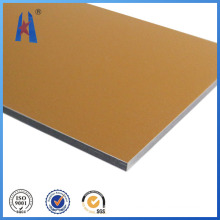 Cepillo de aluminio panel comoposita para material decorativo