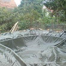 Vente chaude 1.5mm épaisseur polychlorure de vinyle PVC imperméable Membrane / PVC piscine doublure / doublure de bassin / doublure artificielle de lac (ISO)