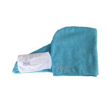 Magic quick drying microfiber SPA hair towel /turban towel wrap