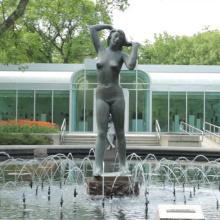 Haute qualité femmes bronze sculpture nude femelle bronze sculpture