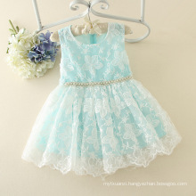 2017 summer children clothing wholesale dress material in surat bule girl dress