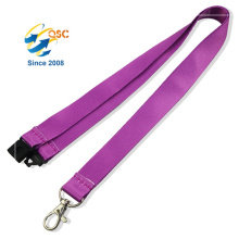 Silk-Screen Printing Adjustable Heat Transfer Fancy Lanyard With Badge